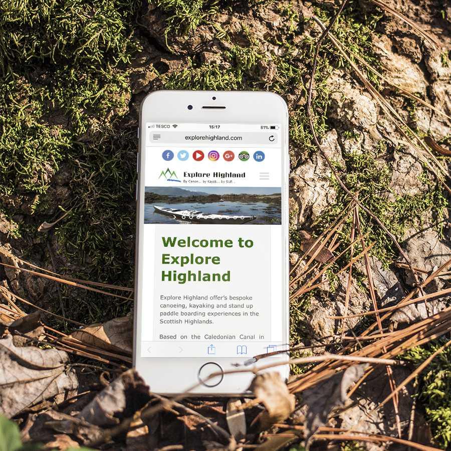 Mobile design Inverness