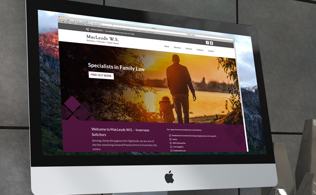web designers inverness